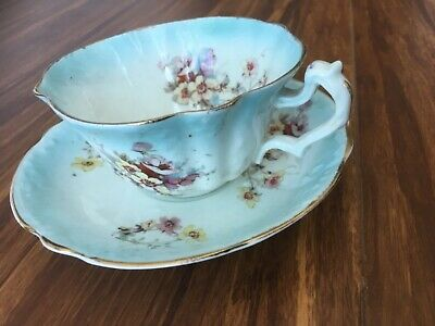 Antique old  tea cup and sauser W&sons ,very delicate shape ,in good condition