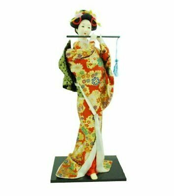 "Large 21"" Japanese Geisha Oriental Doll"
