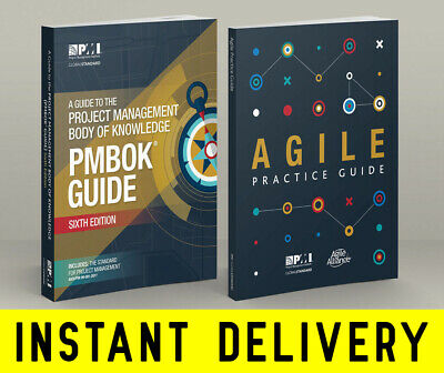 PMI PMBOK Guide 6th Edition 2017 + Agile Practice Guide ⚡INSTANT DELIVERY⚡