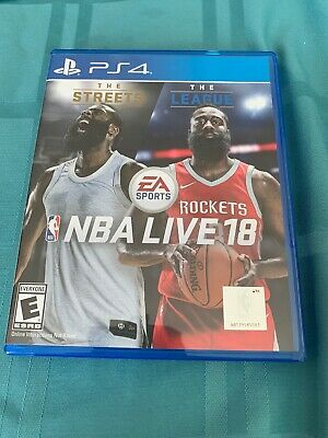 Sony PlayStation 4 EA Sports NBA Live 18 PS4 Basketball Video Game