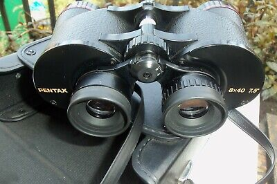 Fully Working Pentax 8x40 Binoculars Case Straps