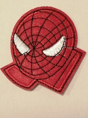 SPIDERMAN 7.2 X 2.0 cm EMBROIDERED IRON ON//SEW ON PATCH BADGE LOGO CHARACTER