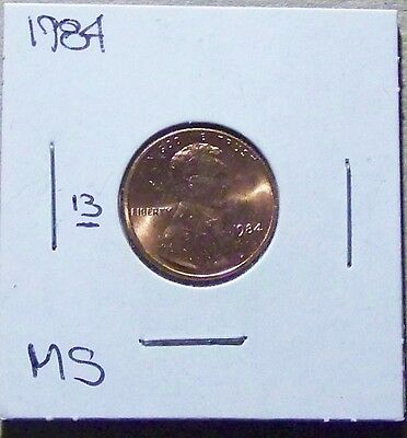 1984 Lincoln Memorial Cent. From A Mint Set. (Uncirculated) (13)