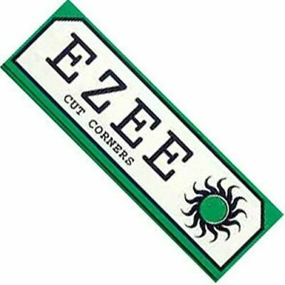 eZee Green Cigarette Rolling Papers - 10 Booklets