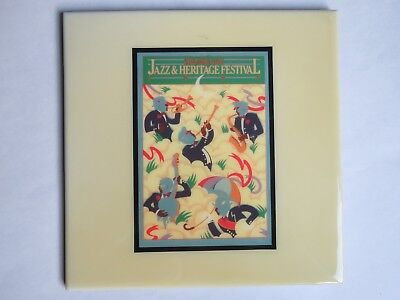 Festival TILE ~ New Orleans Jazz & Heritage Fest: 1982 Stephen St Germain Design