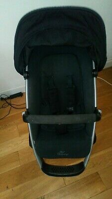 quinny buzz xtra SEAT UNIT in black FREE POST