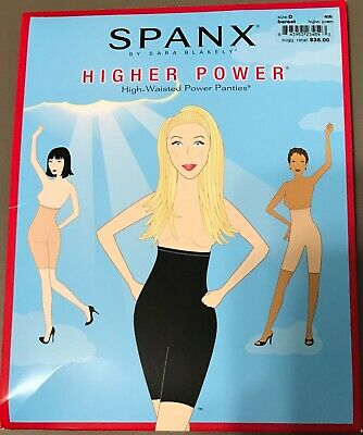 SPANX Slimproved Higher Power High Waisted Shaper Panties - OPEN PACKAGING