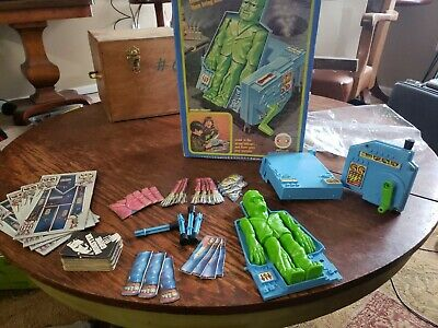 Vintage 1970'S Ideal The Monster Game W/ Original Box