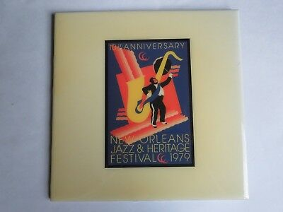 Festival TILE ~ New Orleans Jazz & Heritage Fest Art4Now 1979 John Martinez Art