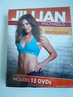 Juilian Michaels Body Revolution 15 cs New Sealed