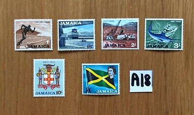 British Commonwealth UM/Mint stamps From Jamaica Part Set High Values To £1 (A18