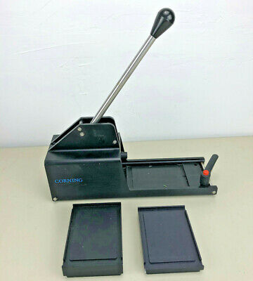 Corning Manual Microplate Sealer With Assorted Plates.