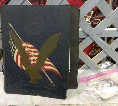 WW2 WWII World War Two 2 Photo Photograph Album Airplanes Pilots Soldiers Men
