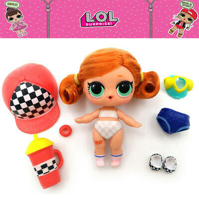 LOL Surprise Doll Series 5-021 SK8ER GRRRL Hair Goals Color Change Kids Toy Gift