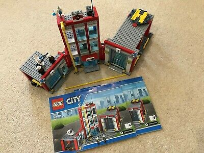 FIRE ENGINE GARAGE ONLY NEW LEGO 60110 CITY FIRE STATION SPLIT FROM SET