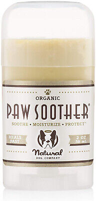 Natural Dog Company - Paw Soother | Heals Dry, Cracked, Irritated Dog Paw Pads