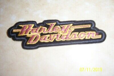 Harley Davidson  motorcycle Tab patch 4 inch