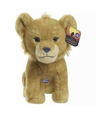"NEW The Lion King SIMBA 8"" Talking Plush 2019 Disney Live Action Movie"