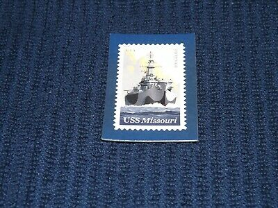 USS MISSOURI BATTLESHIP - MAGNET OF THE US STAMP Released in 2019