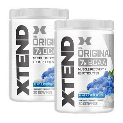 Scivation Xtend BCAAs 30 Serves | Twin Pack | FREE Shaker & Shipping
