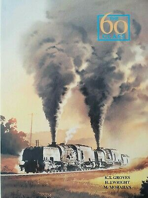 New South Wales Railways The 60 Class Garratts Hardcover SIGNED steam trains