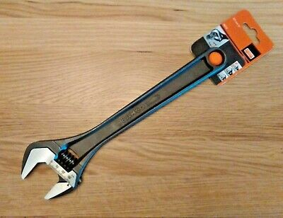 """Bahco 12"""" (300mm) Black Adjustable Wrench 8073 Spanner *NEW*"""