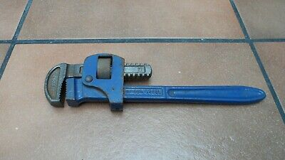 original vintage record 10 inch stilson pipe wrench
