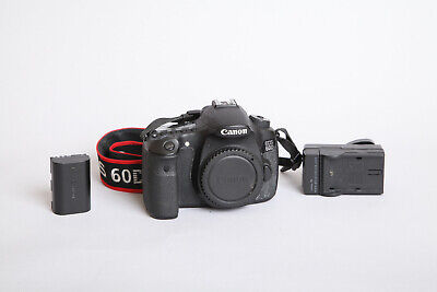 Canon EOS 60D 18MP DSLR Camera (Body Only) in VGC 52k Shutter