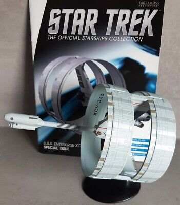 Star Trek U.S.S. Enterprise XCV-330 Sondermodell EAGLEMOSS englisches Magazin