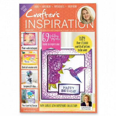 Crafters Companion Inspiration magazine issue 22