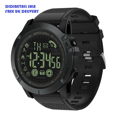 ON SALE! Waterproof Smart Watch T1 Latest 2019 Tact - Military Grade Solid Tough