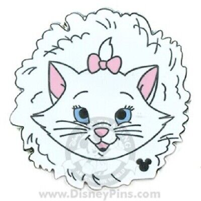 Disney Aristocats White Kitten WDW Hidden Mickey 2007 Series 2 Marie Pin