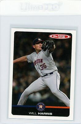 2019 Topps Total Wave 4 Base Card SP /439 #346 Will Harris Houston Astros