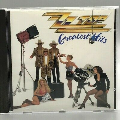 Greatest Hits by ZZ Top (Used CD, Mar-1992, Warner Bros.)