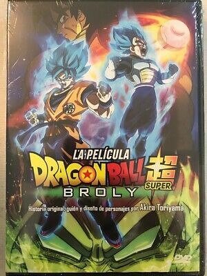 Dvd Dragon Ball Super Broly The movie | English, Español latino & Portugués