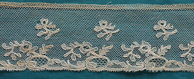 240 cms antique Bucks  lace border