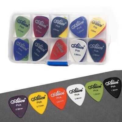 20X(24 pcs Acoustic Electric 6 thickness Pick bag Assorted Guitar Picks Plectru