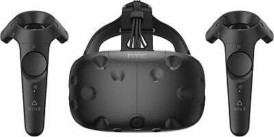 HTC Vive Virtual Reality Headset Bundle with Controllers VR Glasses 99HALN002-00