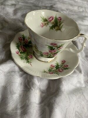 Royal Albert Bone China Road To Isles Anicestral Series Cup And Saucer