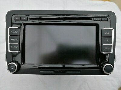 VW RCD 500 6 Disc Cd Changer Mp3/Cd Rds Radio With Security