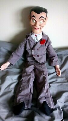 Slappy from Goosebumps Ventriloquist Dummy Doll Glowing Eyes, moving head/mouth
