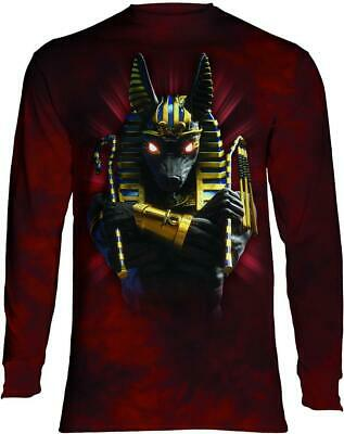 Anubis Soldier Adult Long Sleeve Tee The Mountain