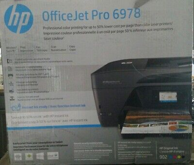 HP OfficeJet Pro 6978 All-in-One Wireless Printer with Mobile Printing