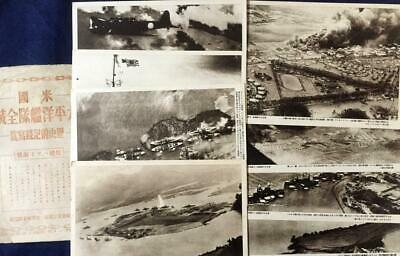 Wwii Pacific War Documentary Photo Attack On Pearl Harbor Japan Propaganda