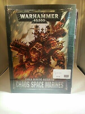 Chaos Space Marines Warhammer 40K Codex NEW 8th Edition Hardcover