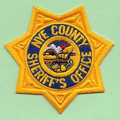NYE COUNTY SHERIFF Patch NV Nevada LIVE PD Law Enforcement