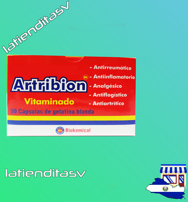 Artribion Vitaminado | 50 Caps | 1 Pks  | Original  | Shipping From: SV