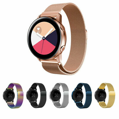 For Samsung Galaxy Watch Active Magnetic Milanese Loop Strap Bracelet Band 42mm