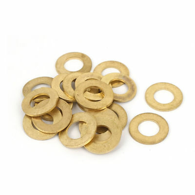 H● 10 Pcs 27x35x2mm Copper Flat Washer Metric Ring Shape Copper Washer.