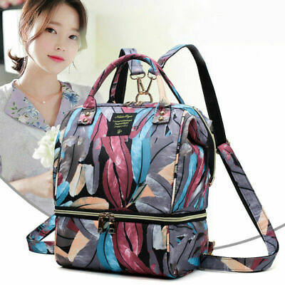 AU Multi-Functional Mummy Diaper Bags Baby Nappy Backpack Nursing Changing Bag